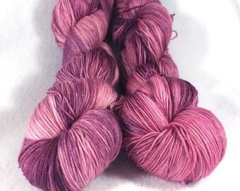 PRESSED FLOWER superwash merino sock yarn