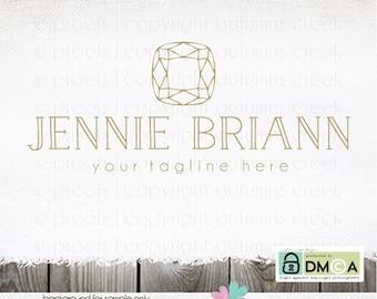 jewelry logo jeweler logo jewelry design logo diamond logo gemstone logo