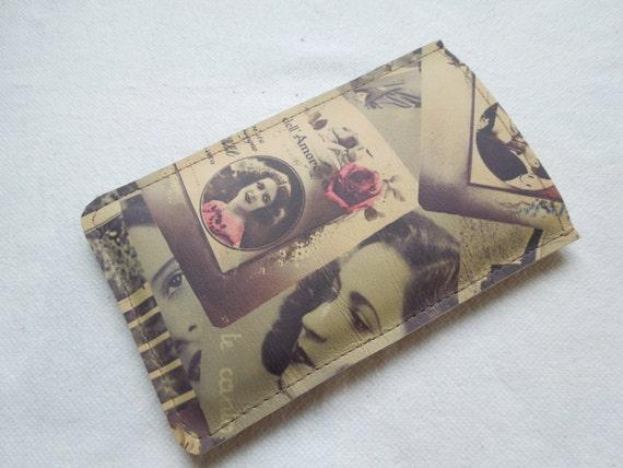 Smartphone case, leather case, Nexus 5 case, vintage case, vintage print,leather nexus case, mobile case, mobile leather case