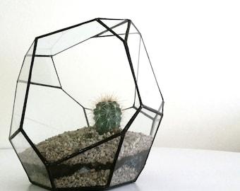 Terrarium , Wedding , Stained Glass ,  Geometric , Glass Container , Glass Terrarium , Display Case