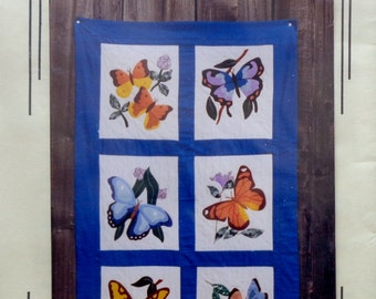 Donna Poster | Holiday Designs Six BUTTERFLIES BUTTERFLY to Applique (Multiple Designs) - Quilt Quilter Pattern Template