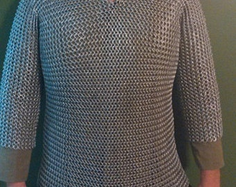 Chainmail Shirt Aluminum or Steel