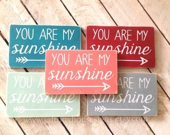 You Are My Sunshine Sign Small