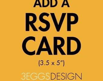 Add a RSVP Card