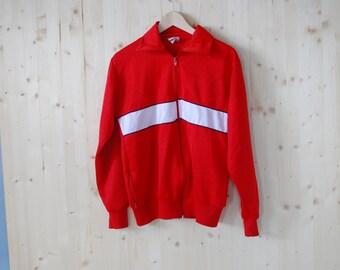Super Retro 80's Mens track jacket sports sweater Windbreaker