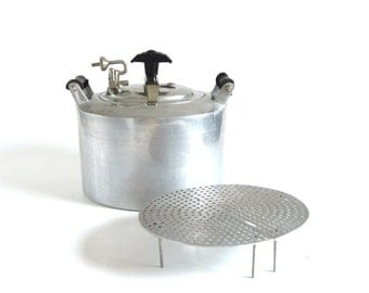 Minit Maid Pressure Cooker Cookware Minit Maid Aluminum Pressure Pan 1940s Kitchen