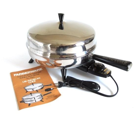 Farberware Electric Frying Pan 12 Skillet 312 B By