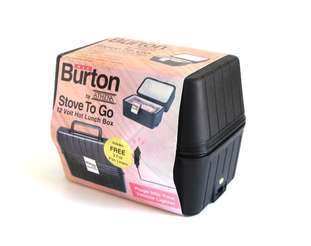 Max Burton Stove To Go 12 Volt Hot Lunch Box 1980s Unused