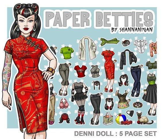 Paper Betties - Denni Doll