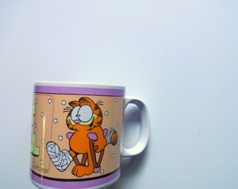 Vintage Garfield Get Well Coffee Mug 1978