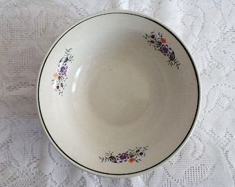 Beautiful  Bowl with floral elements, use for home decor, kitchen, collect.