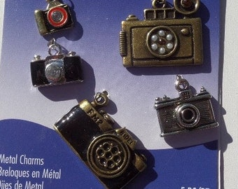 5 piece Camera Charm set, only one set available