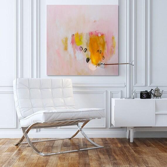 MINIMALIST Large Wall Art Acrylic Painting Large Abstract Art