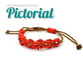 DIY Macrame Bracelet PDF PICTORIAL