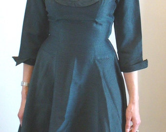 Vintage 1950's Tailored Junior Dress