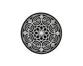Mandala Sacred Geometry Iron On Patch Embroidery Sewing DIY Customise Denim Cotton Hippy Hipster