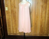 Adorable PINK BABYDOLL LINGERIE Nightgown