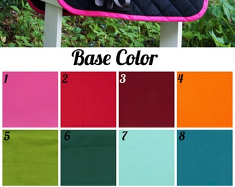 MADE TO ORDER Custom Solid Color Baby Pad Many Colors