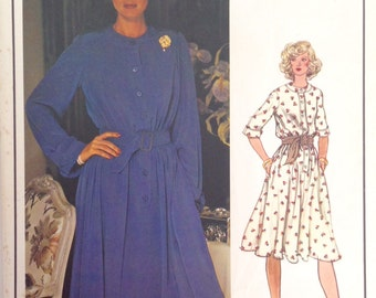 "Vintage 1970s Vogue Paris Original Misses' Dress Pattern by Patou 1172 Size 14 (36"" Bust) UNCUT"