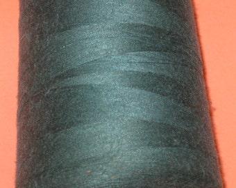 Sewing Thread Large Cone Machine Serger Spool Spun Polyester Thread Cone Spool Venus Dark Green All Purpose