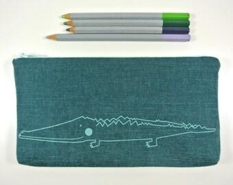 crocodile pencil case