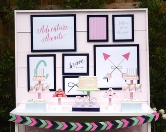 Bows and Arrows Backdrop