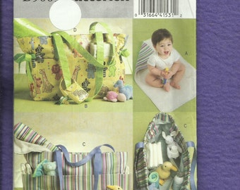 Butterick 5005 Diaper Bag & Accessories for Babies  UNCUT