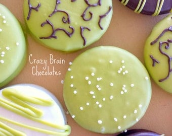 Party Mix Chocolate Dipped Oreo Cookies (12)