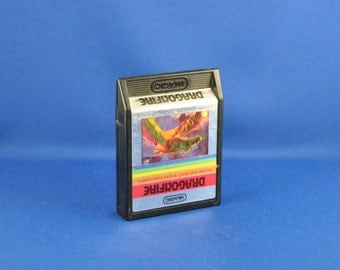 Vintage Atari 2600 Game Dragonfire 1982, Video Game, Console Game, Atari, Vintage Game, Vintage Atari, Vintage Console, Action Game, Space