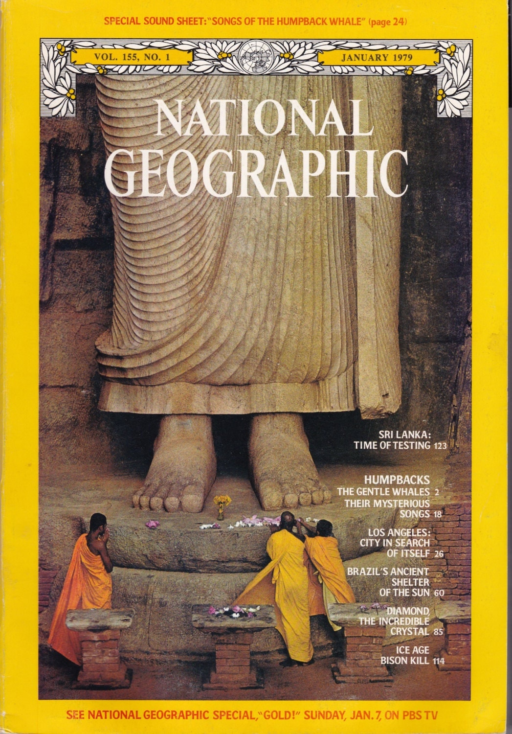 Vintage National Geographic Magazine Vol  No  January - Los angeles posters vintage