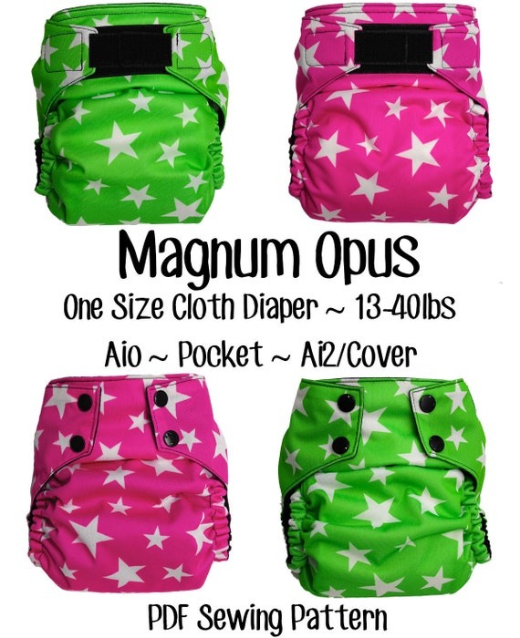 magnum opus diaper pdf sewing pattern from opulentmonsters. Black Bedroom Furniture Sets. Home Design Ideas