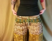 Upcycled flow pants