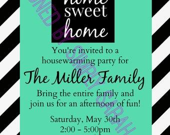 Custom Housewarming Invitation  **PRINT AT HOME**