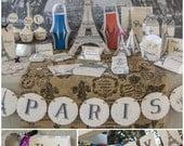 Paris Theme Party Printab...