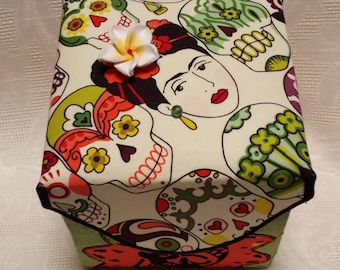 Frida Embellished Fabric Box