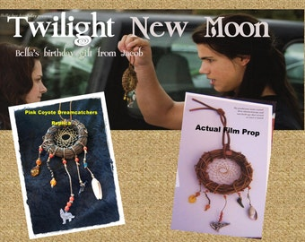 Twilight Saga New Moon Bella Birthday Gift Jacob Replica Film Prop Inspired Dreamcatcher
