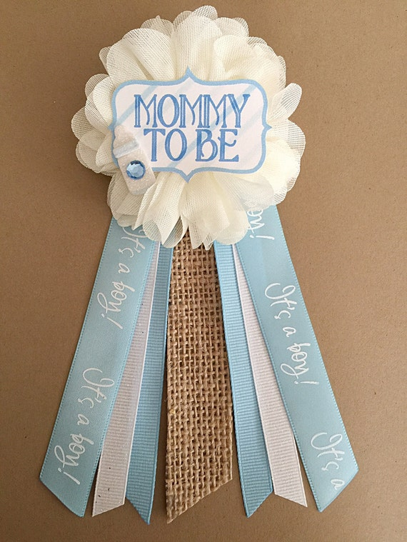 rhinestone mommy mom burlap bow tie baby shower pin mommy to be pin