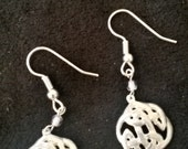 Earrings celtic knot earrings, dangle earrings