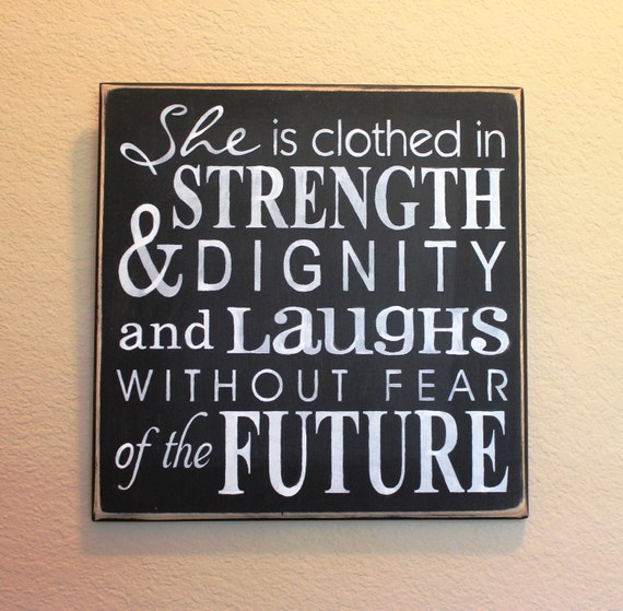 2014 She Is Clothed With Strength And Dignity: She Is Clothed In Strength & Dignity Proverbs 31 Black