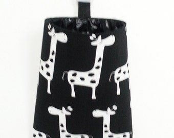 Car Trash Bag  - Giraffes