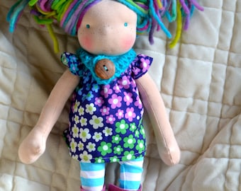 CUSTOM Waldorf doll .. pick your size