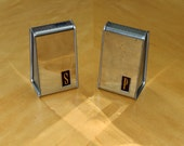 SALE // Mid Century Salt and Pepper Chrome Shakers