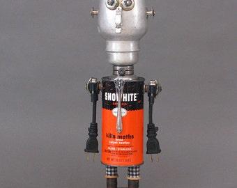Robot Sculpture - Mr. Mothinator