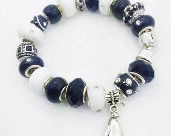 Penguin Charm Bracelet