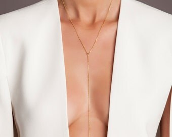Basic Lariat Necklace