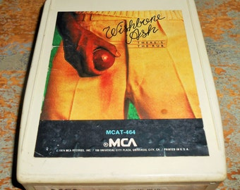 "Wishbone Ash, 8 Track Tape, ""There's The Rub"",  8 Track Tape Cartridge, Stereo Tape Cartridge, 8 Track, Eight Track"