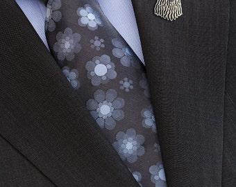 Komondor brooch - sterling silver.