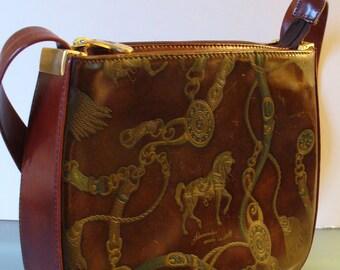 Alexander Made in Italy Equestrian Shoulder Bag