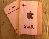 "Wooden ""Swell"" Phone"
