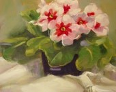 Primrose I...Original Oil Painting by Maresa Lilley, SND